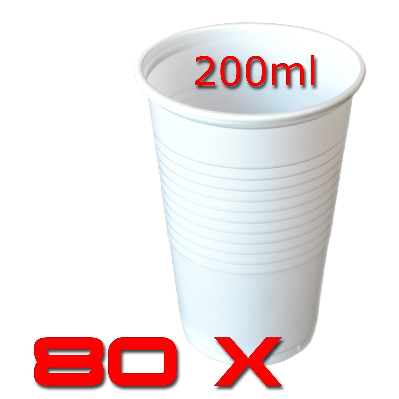 6000 STK 0,2 Tansparent Trinkbecher Ausschankbecher Partybecher Plastikbecher