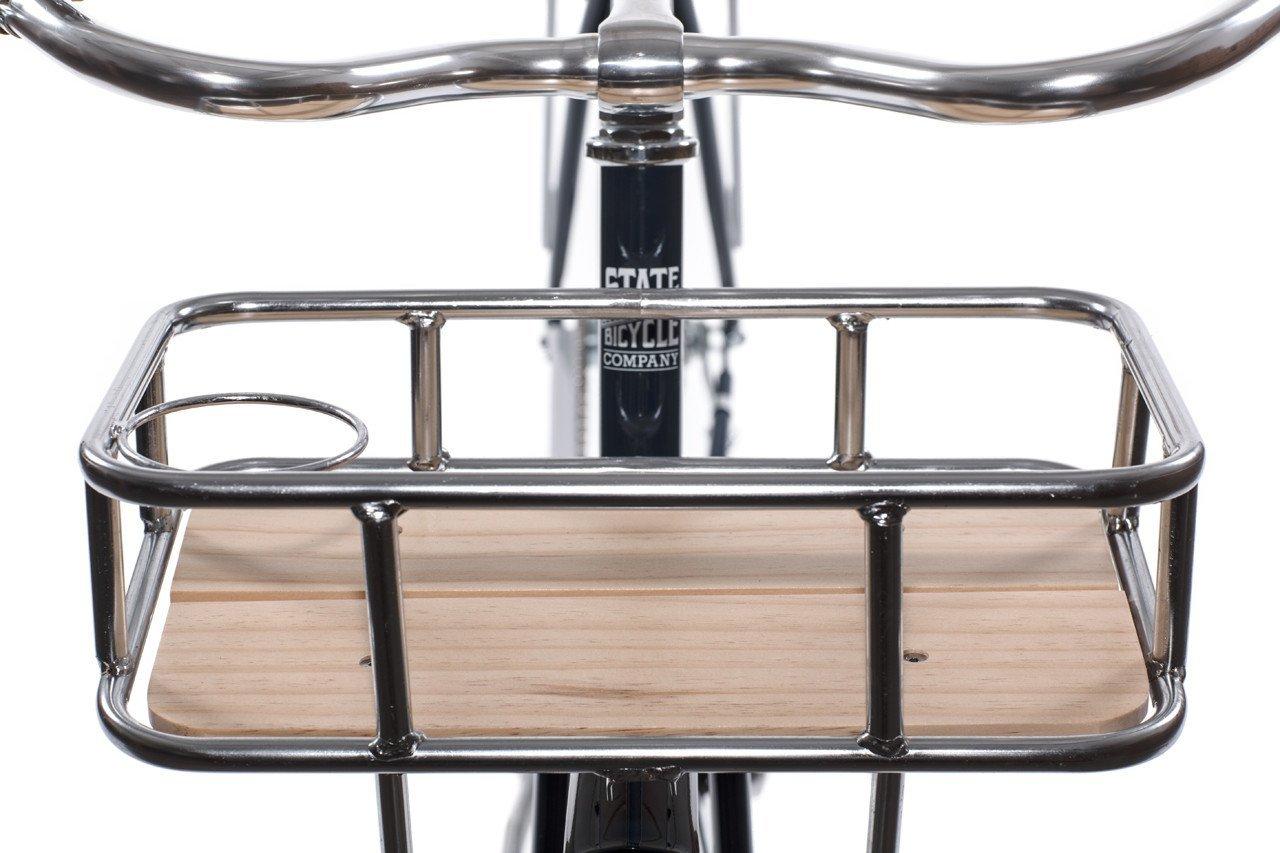 State Bicycle Co. Fixed Gear 6061 - Marco y Tenedor para Etiquetas, Color Negro A796201609080