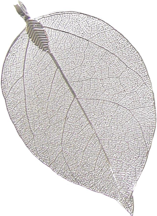 2 Silver Pendant Hammered Leaf Pendants Antique Silver Plated Pendants 60x30mm Antique Silver Plated Metal G12141