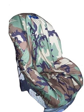 Toddler Car Seat Cover Slip Military Camo