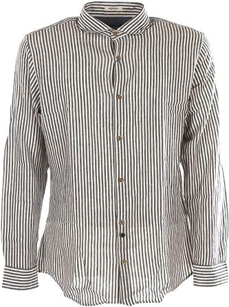 Jack & Jones Camisa de Hombre Tela Estampada Azul 12170464 ...