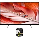 Sony XR65X90J 65-inch X90J 4K Ultra HD Full Array LED Smart TV (2021 Model) Bundle with Premium 2 Year Extended Protection Pl