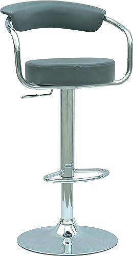 MILAN Maribel Pneumatic Gas Lift Adjustable Height Swivel Stool
