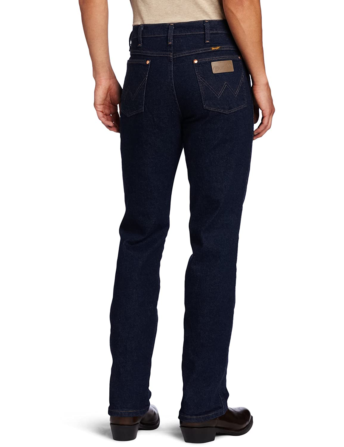 7fa963e6121 Wrangler Men's Western Traditional Bootcut Slim Jean at Amazon Men's  Clothing store: Slim Fit Stretch Mens Jeans