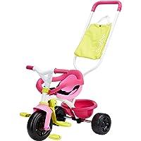 Triciclo Be Fun Confort rosa con bolso
