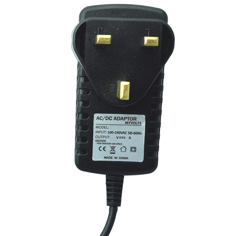 UK 15V plug MyVolts power adaptor compatible with Orange Guitar amp Micro Terror