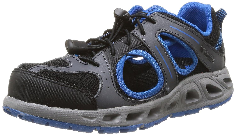 Columbia Youth Supervent Hybrid Water Shoe (Little Kid/Big Kid) Black/Hyper Blue 3 M US Little Kid Columbia Kids Footwear YOUTH SUPERVENT - K