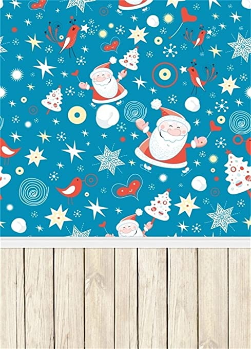 Amazon Com Ofila Christmas Photography Backdrop 6x8ft