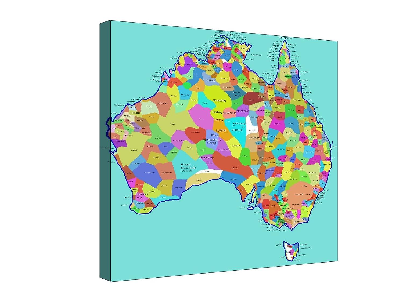 Australia aborígenes tribes Mapa | Varios Tamaños - XL Extra grande ...