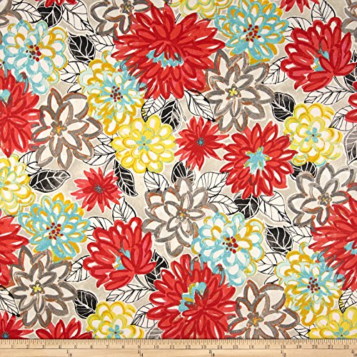 Waverly Palace Matisse Dance Scarlet Lake Fabric By The Yard