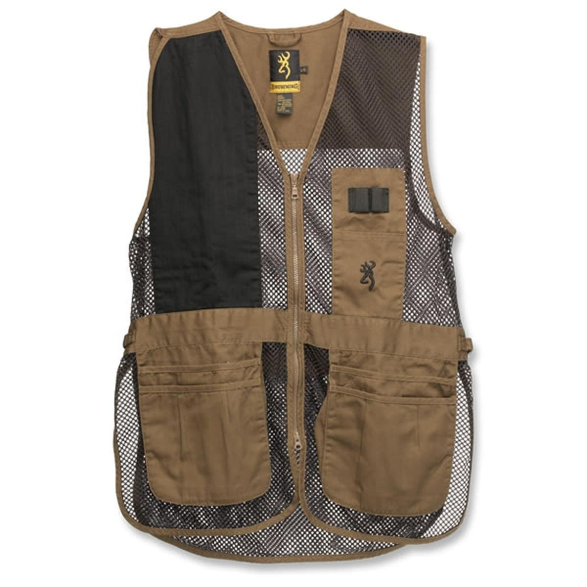 Browning, Trapper Creek Vest, Clay/Black, Medium
