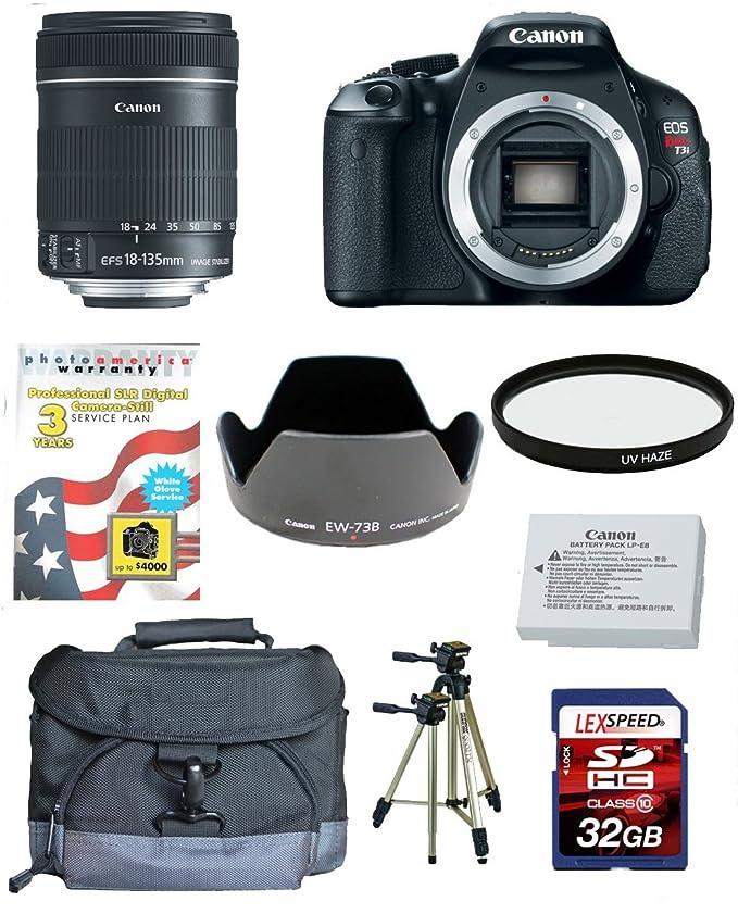 Canon EOS Rebel T3i - Cámara digital (Auto, Nublado, Modos ...