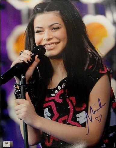 Miranda Cosgrove Hand Signed Autographed 11x14 Photo Sexy Pop Singer Ga769763