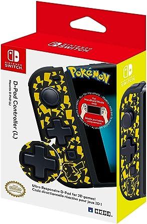 Hori - Controlador D-Pad (L) Pikachu (Nintendo Switch): Amazon.es ...