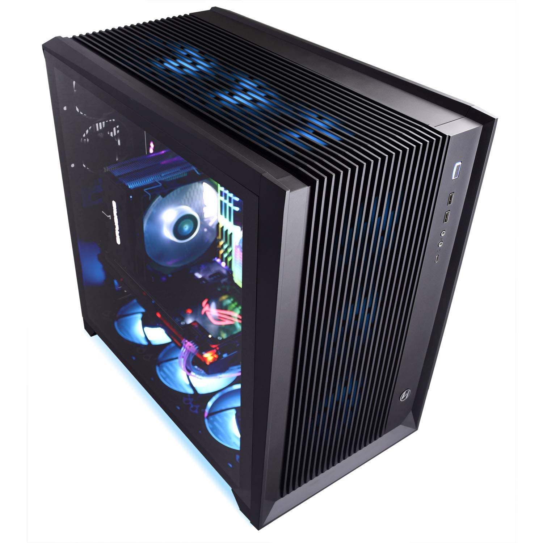 Lian Li PC-O11AIR RGB SECC/Tempered Glass ATX Mid Tower Gaming Computer Case Black