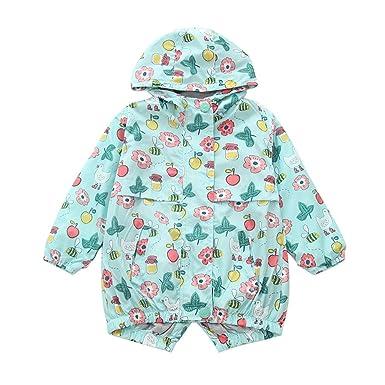 db1fd2b11 Minetom Kids Boys Girls Animal Printed Soft Shell Hooded Jacket ...
