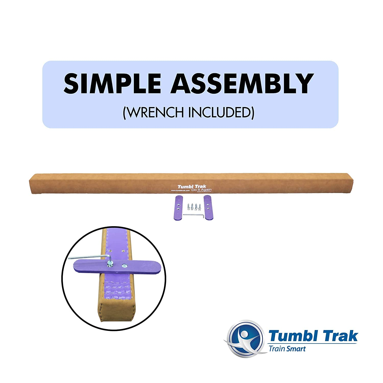 Tumbl Trak Addie Beam 8ft Suede Training Floor Balance Beam