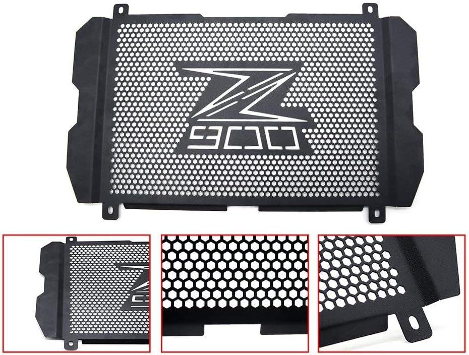 Z900 Motocicleta Acero Inoxidable Cubierta de la Rejilla del Radiador para Kawasaki Z900 2016 2017 2018-Negro
