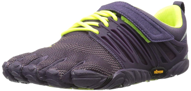 Vibram Women's V-Train Cross-Trainer Shoe B01HCEP2MC 43 M EU / 11 B(M) US|Nightshade/Safety Yellow