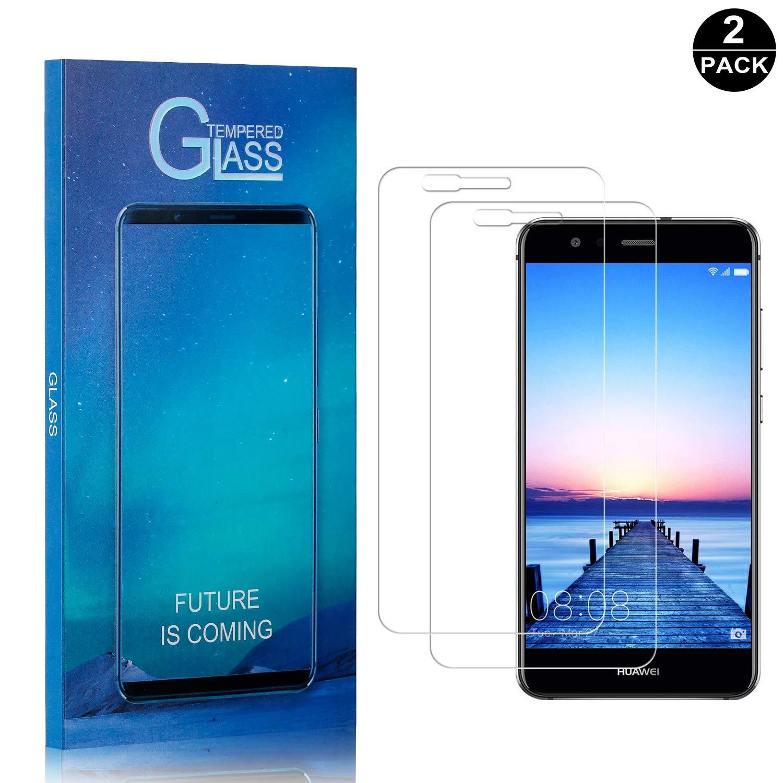 SONWO Huawei P10 Lite PanzerglasFolie Schutzfolie 2 St/ück 0.33mm Ultra-klar 9H H/ärte HD Displayschutzfolie Frei von Kratzern Fingabdr/ücken und /Öl Kompatibel Huawei P10 Lite