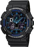 Casio G-Shock – Montre Homme Analogique/Digital avec Bracelet en Résine – GA-100