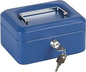 Arregui C9215 Caja De Caudales Con Bandeja, Azul, 152 X 80 X 118 Mm: Amazon.es: Bricolaje y herramientas