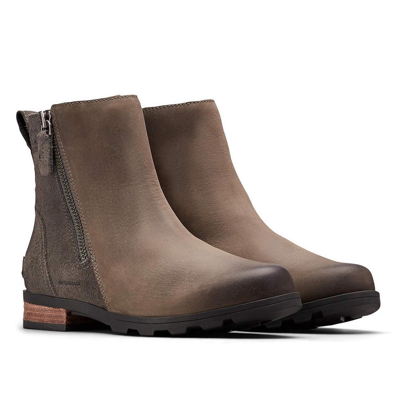 Womens Emelie Zip Waterproof Ankle Bootie Sorel