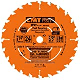 CMT P07024-X10 ITK Plus Fast Framing Saw Blade