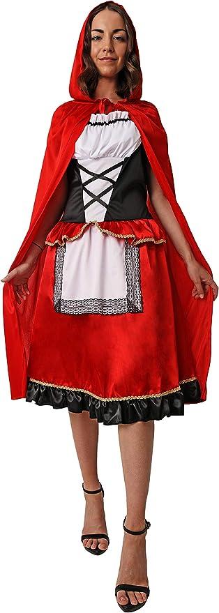 Costumizate! Disfraz de Caperucita para Mujer Adulta Especial para ...