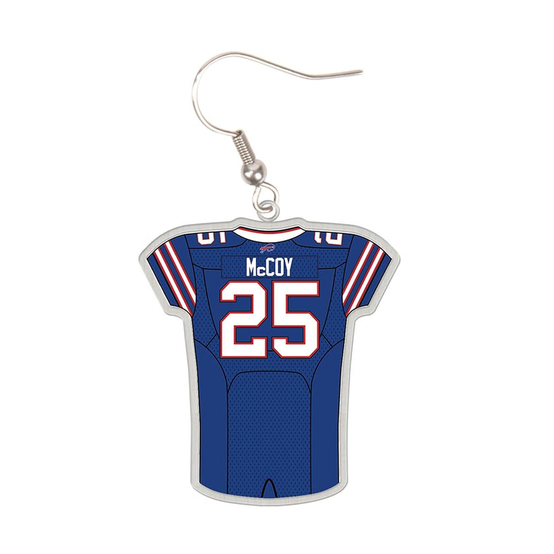 NFL Buffalo Bills LeSean McCoy Jersey Earring: Amazon.in: Sports ...