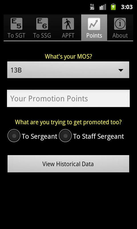 Promotion: Army Promotion Point Calculator