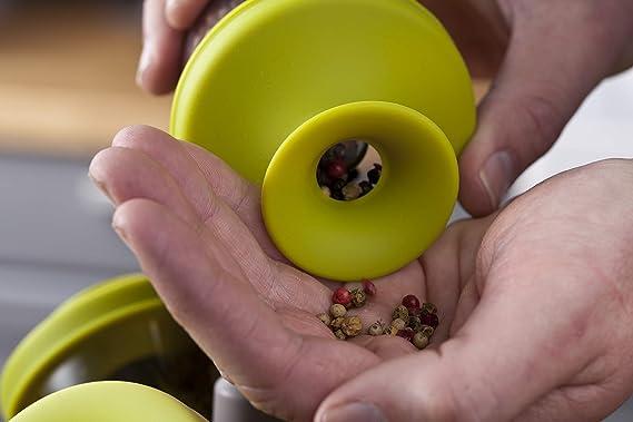 Tomorrows kitchen popsome set de 6 -2843660- Arbol dispensador para especias y hierbas, color verde.: Amazon.es: Hogar