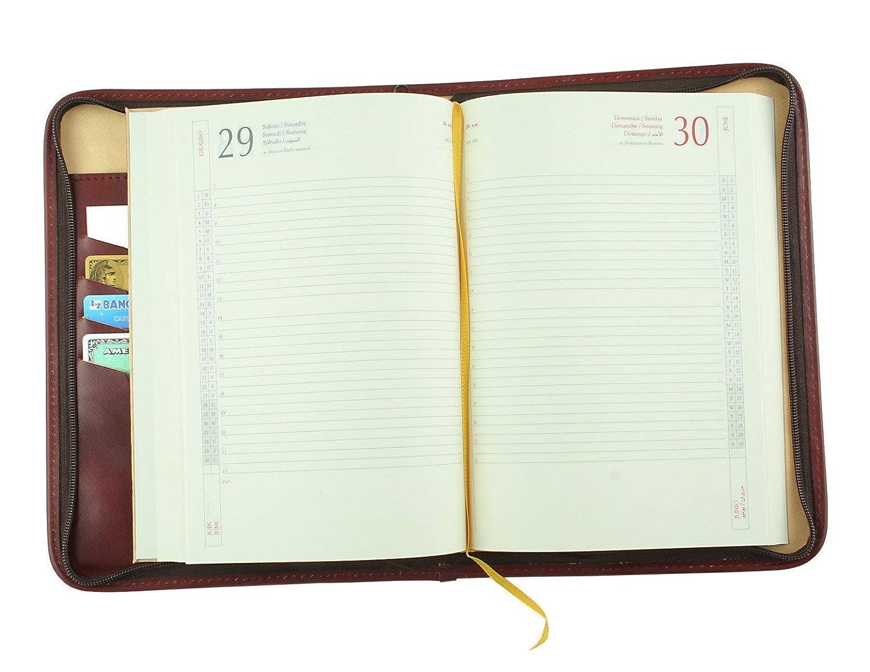 Agenda 2020 personalizable con cierre de cremallera ...