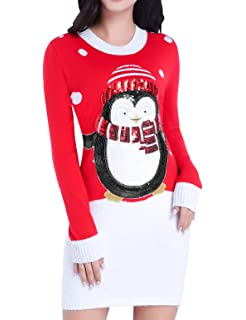 Ugly Christmas Sweater Company - Suéter navideño para Mujer 377ca520380f