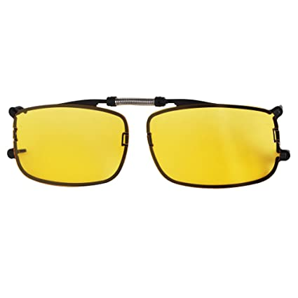Amazon.com: LianSan Clip on Sunglasses Mirror Flip up Polarized for ...