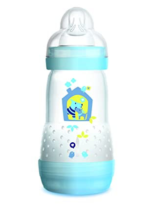 Amazon.com: Botellas para bebés con leche materna, botellas ...