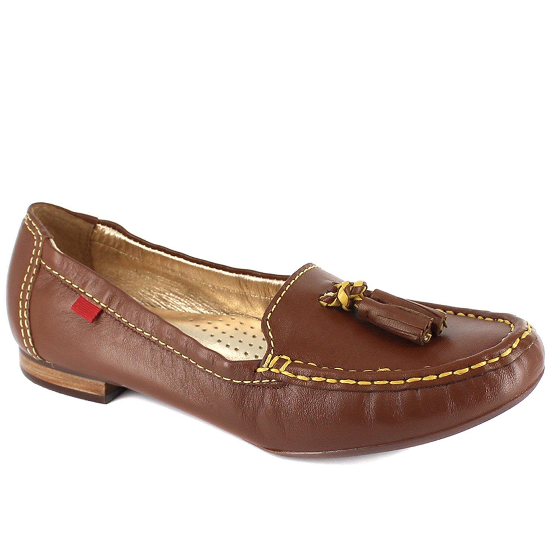 Marc Joseph New York Womens East Village Leather Lining Rhino Loafers Cognac, Size 9.5