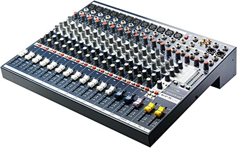 Soundcraft EFX12+K Mesa de mezcla analógica 12CH: Amazon.es ...