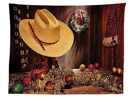 Decorazioni Sala Natale : Vipsung western decor tovaglia fattoria con decorazioni di natale