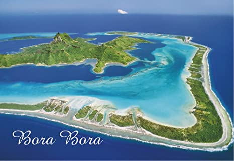 Amazon Com Bora Bora Leeward Islands French Polynesia
