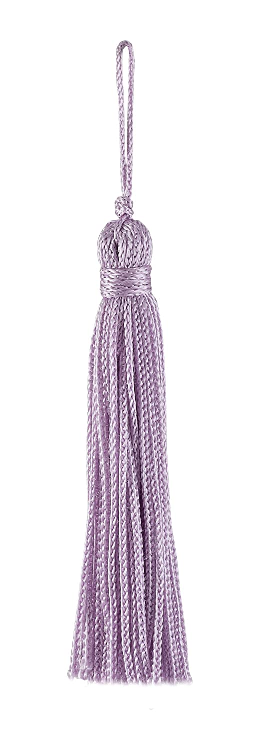 Set of 10 Light Purple Chainette Tassel, 3 Inch Long with 1 Inch Loop, Basic Trim Collection Style# RT03 Color LILAC - D7 DecoPro BCACS10920