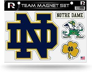 NCAA Rico Industries Die Cut Team Magnet Set Sheet, Notre Dame Fighting Irish