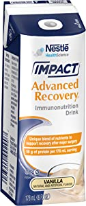 IMPACT Advanced Recovery® Immunonutrition Drink Vanilla 6 fl oz Box 15 Pack