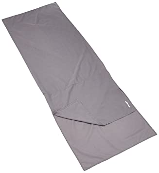 Lafuma Schlafsackinlett Sleep Coton - Sábana para saco de dormir, color gris, talla 220 x 80 x 1 cm: Amazon.es: Deportes y aire libre