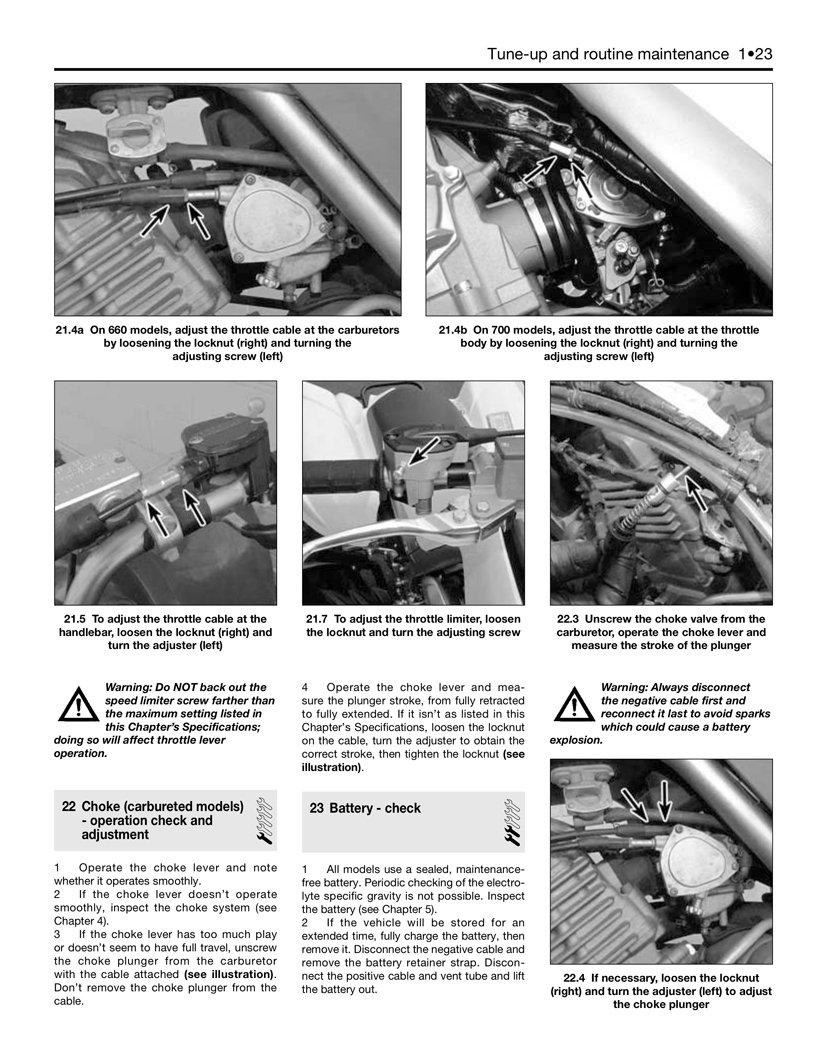 Software 2001-2012 Yamaha Raptor 660 700 ATV Quad HAYNES REPAIR ...
