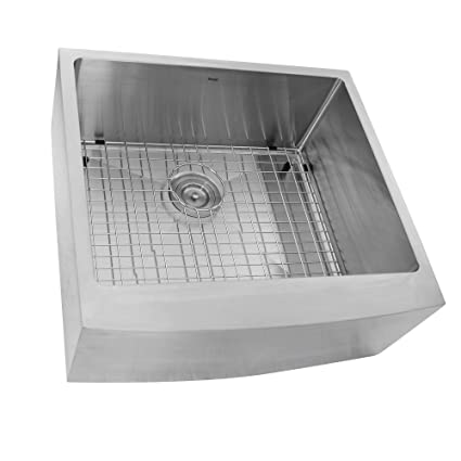 24 Inch Apron Sink.Nantucket Sinks Pro Series Small Radius 24 Inch Stainless Steel
