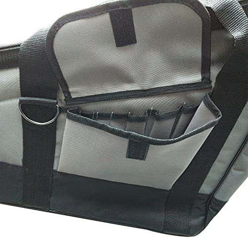 Superior Parts H850 22 Long x 16 x 8 Tall x 4 Wide Heavy-Duty Framer Nail Gun Tool Bag with Extra Storage Pockets