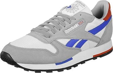 sports shoes 4ff84 1e36d Reebok Sneaker CL Leather MU CN7036 Mehrfarbig White Gry Cobalt Organge Blk