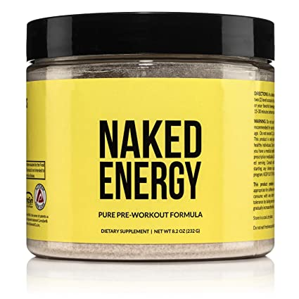 Amazon.com: Naked Energy – All Natural Pre Workout Powder for Men ...