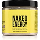 Naked Energy – All Natural Pre Workout Powder for Men and Women, Vegan Friendly, Unflavored, No Added Sweeteners, Colors or F
